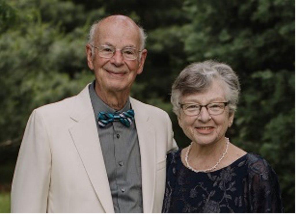 Dr Robert Martin MBE and Nancy Martin